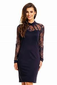 3a428e73aaa robe de soir e chic robe de cocktail tendance bleue robe chic tm 364  toufamode nouveaut s