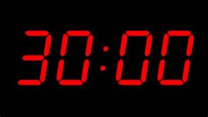 Countdown Timer Digital Background Clock Second Shutterstock
