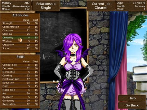 spirited heart deluxe fantasy life simulation game