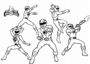 Beautiful Power Rangers Coloring Pages At Power Rangers ...