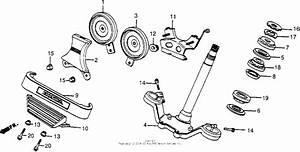 Vt500c Steering Stem 85