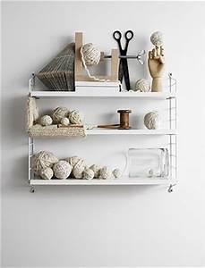 String Pocket Weiß : string regal pocket wei skandinavische wohnaccessoires ~ Orissabook.com Haus und Dekorationen