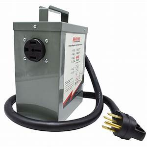 50 Amp Voltage Booster With Surge Protection