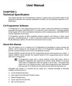 user manual template free user manual templates word template section