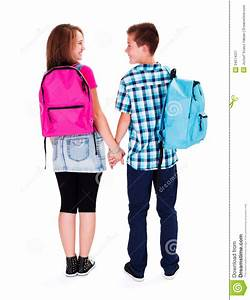 Teenage Love - Holding Hands Royalty Free Stock ...