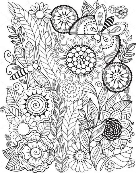 summer coloring pages  print   adults
