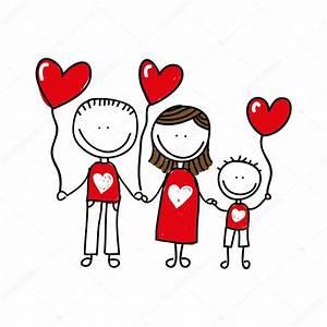 Diseño de icono aislado dibujo familia feliz Vector de stock #113684630 Depositphotos