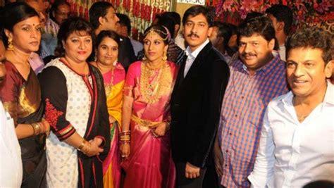 actress jayanthi daughter shivaraj kumar daughter nirupama dileep s wedding pictures