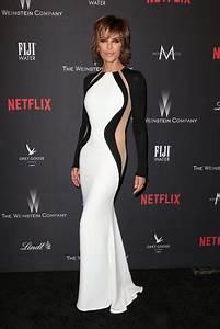 LISA RINNA at Weinstein Company and Netflix Golden Globe ...
