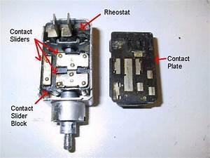 Headlight Switch Internals