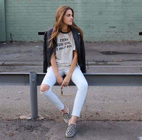 50 best C H E C K E R E D V A N S u21a0 images on Pinterest   Casual dress outfits My style and ...