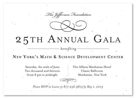 formal gala invitations  vip plantable plantable