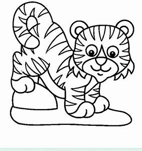 Baby Tiger Coloring Pages Getcoloringpagescom