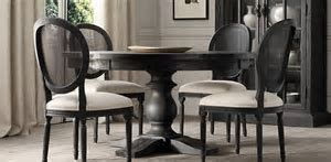 17th C. Monastery Round Table   Restoration Hardware