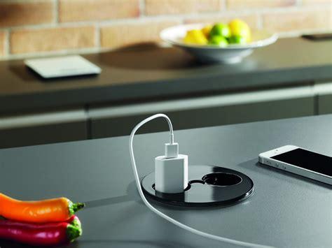 prise ilot cuisine prise électrique de plan de travail