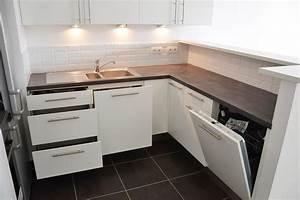 6 belles asuces pour agrandir l39espace de sa petite With photo de petite cuisine amenagee
