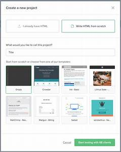 Amazing create an email template embellishment resume for Creating an html email template