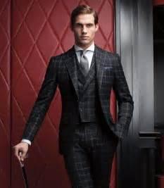 Paul Stuart Suit Windowpane