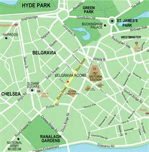 Small-Scale Map of London