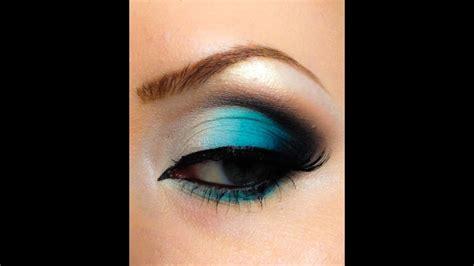 turquoise makeup  tutorial youtube