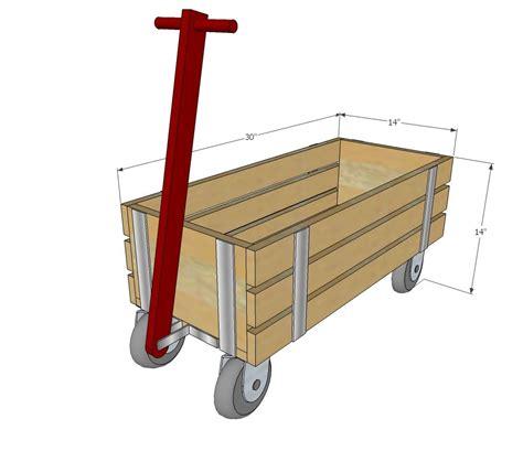 ana white build  beautiful wood wagon  children