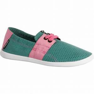 Chaussure De Plage Decathlon : chaussure de plage junior areeta jr vert rose tribord ~ Melissatoandfro.com Idées de Décoration