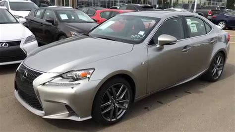 lexus atomic silver new atomic silver on red 2015 lexus is 350 awd f sport