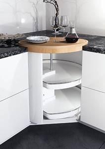Der kucheneckschrank ein topfkarussell als modernes for Kücheneckschrank