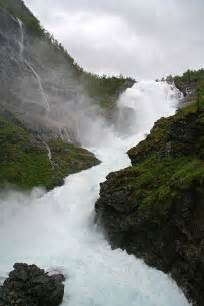 Kjosfossen Waterfall Norway