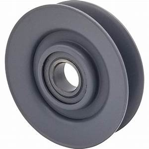 Phoenix V Idler Pulley Wheel  U2014 4in  Dia   5  8in  Bore