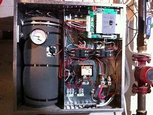 Thermolec Electric Boiler  U0026 Nest Thermostat Setup