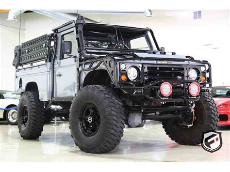 land rover defender  high capacity pickup truck