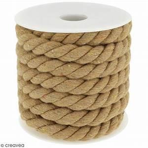 Corde Au Metre : corde tress e beige naturel 10 mm au m tre sur ~ Edinachiropracticcenter.com Idées de Décoration