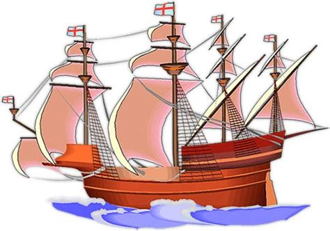 Ship Animation by Sailing Ship Clipart Animated Pencil And In Color