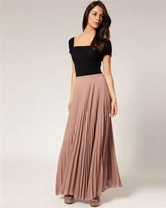 What To Wear With Long Skirts -The Best Way To Wear Long (Maxi) Skirts