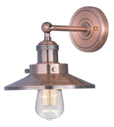 maxim 25060acp mini hi bay 1 light 8 inch antique copper