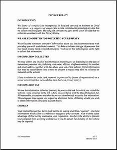 Customer protection agreement template 28 images for Confidentiality policy template