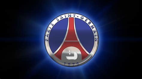 fonds decran paris saint germain logo