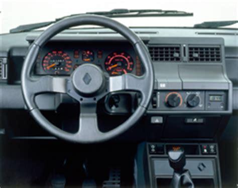 interieur 5 gt turbo renault supercinq gt turbo le guide des gti et petites sportives