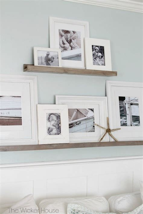 Wall Shelves And Ledges by Easy Gallery Wall Picture Ledges Hometalk
