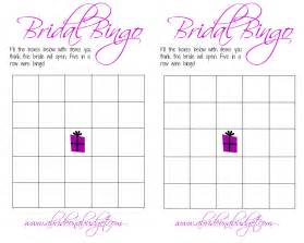 Bridal Shower Gift Bingo Cards free printable bridal bingo sheets video search engine