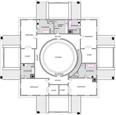 residential project la rotunda  imagined  point