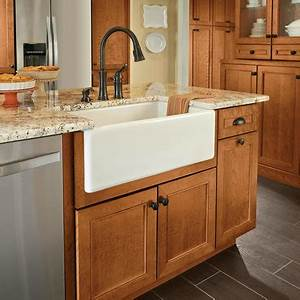 apron front sink base kraftmaid With apron sink cabinet sale