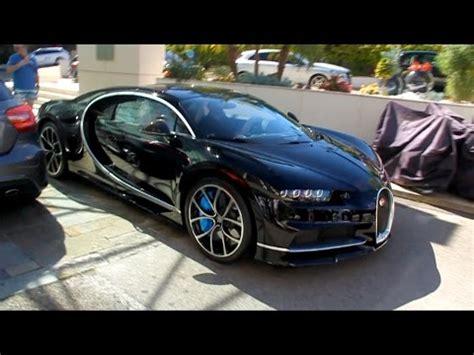 Bugatti Chiron Startup by Bugatti Chiron Sound Start Up On The Road
