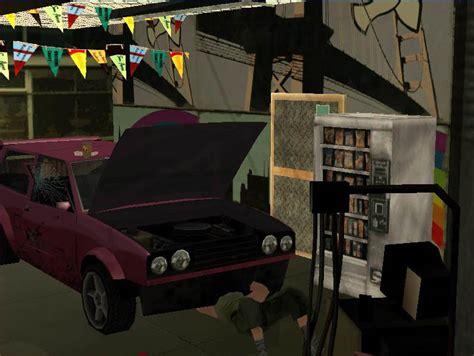 Andrea S Garage by Gta San Andreas Whitelight Garage Autoparts Shop New Mod