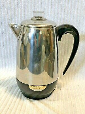 ( 4.1 ) out of 5 stars 63 ratings , based on 63 reviews current price $41.95 $ 41. FARBERWARE SUPERFAST FULLY AUTOMATIC COFFEE POT PERCOLATOR 2-8 CUP MODEL 138 USA | eBay