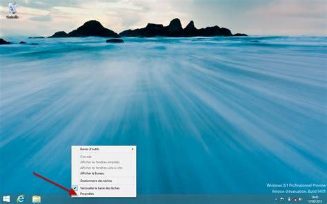 sur le bureau windows 8 démarrer windows 8 1 directement sur le bureau