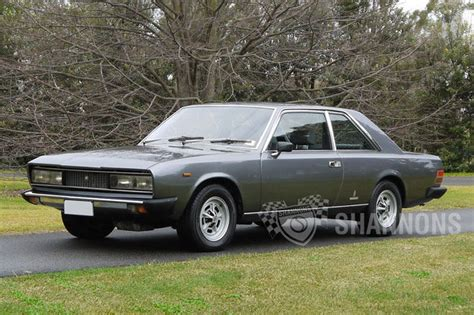 Fiat 130 Coupe by Sold Fiat 130 Coupe Auctions Lot 6 Shannons