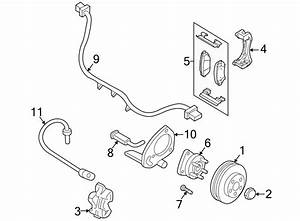 Pontiac Montana Wheel Bearing And Hub Assembly  Suspension