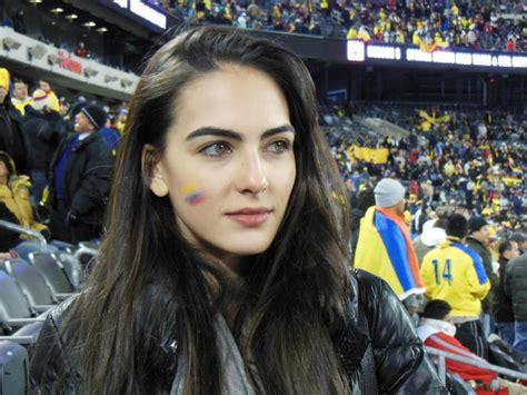 hermosas hinchas colombianas celebran el triunfo deportes taringa